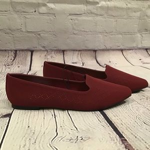 Seychelles Cardinal Red Flats NWT 6.5 Wide